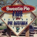 hand-crafted sweetie pie sign