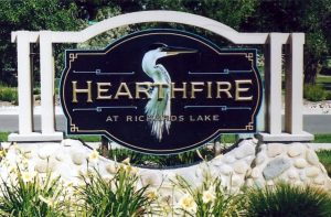 hand-crafted paxton signs hearthfire photo