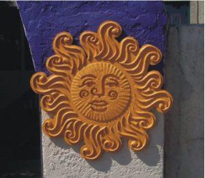 the backporch cafe sun motif photo
