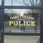 fort collins police window lettering