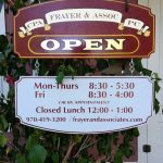 sign for frayer and associates