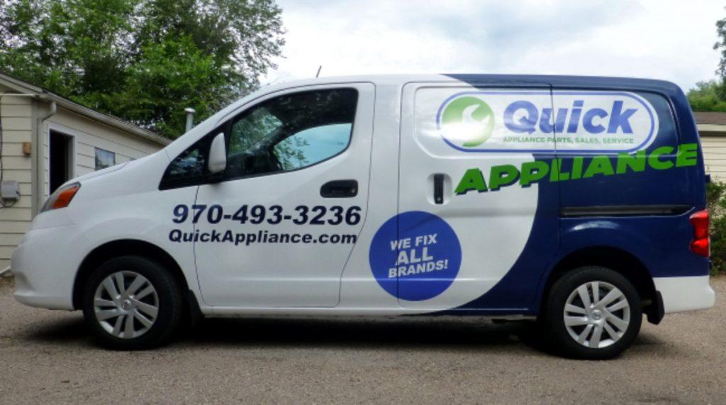 quick appliance van photo
