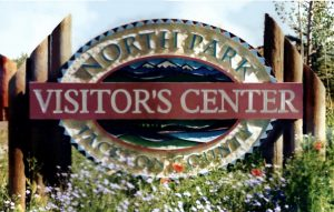 throwback thursday north park visitor's center sign