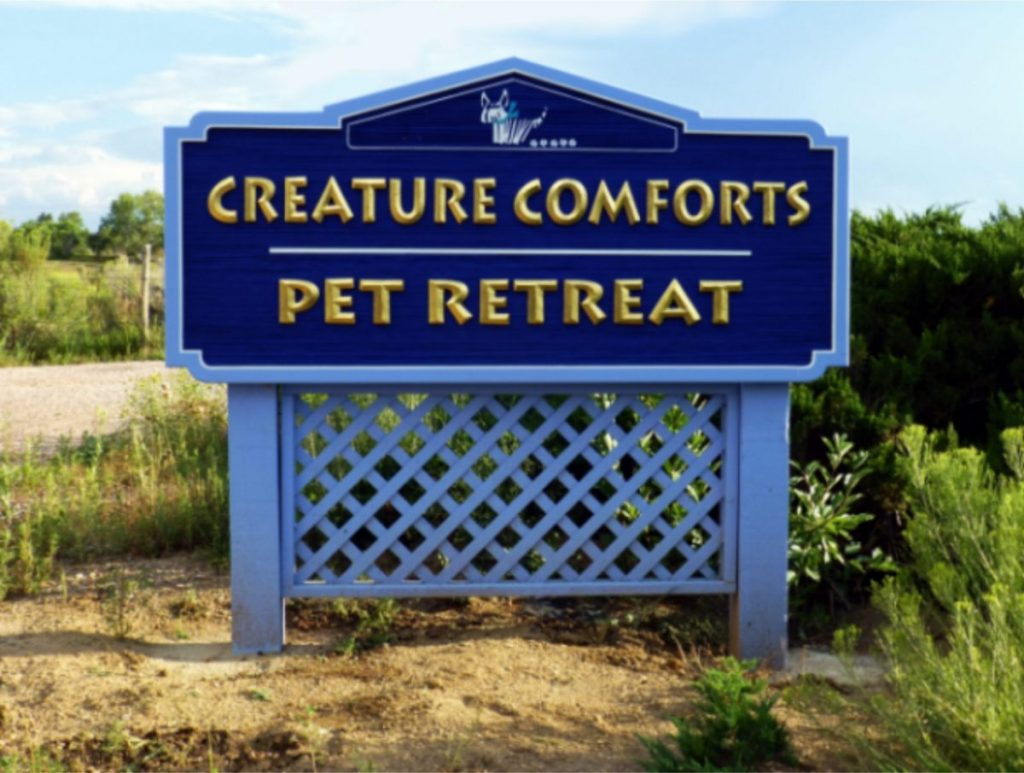 creature comforts front view
